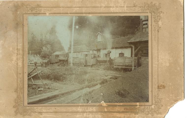 796 Zeleznica od Les do Prevalj prevoz premoga (Small)