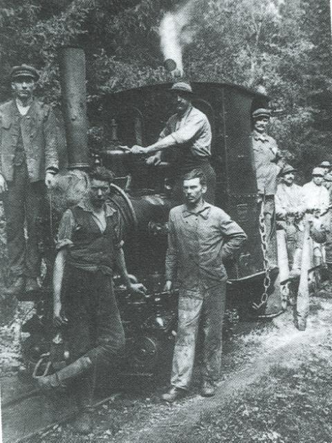 Leski rudarji ob ozkot zel okoli 1934 (Small)